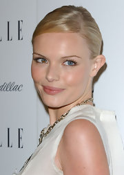 Kate Bosworth accented the natural tint of her lips with a soft gloss.