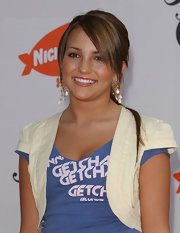 Jamie Lynn Spears attended the 18th Annual Kids' Choice Awards wearing a white shrug.