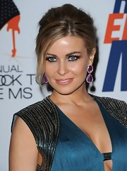Carmen Electra batted her long lashes while attending the 19th Annual Race to Erase MS Gala.