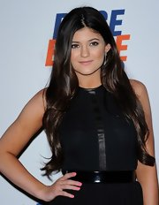 Kylie Jenner arrived at the 19th Annual Race to Erase MS Gala with her nails polished a pretty petal pink shade.