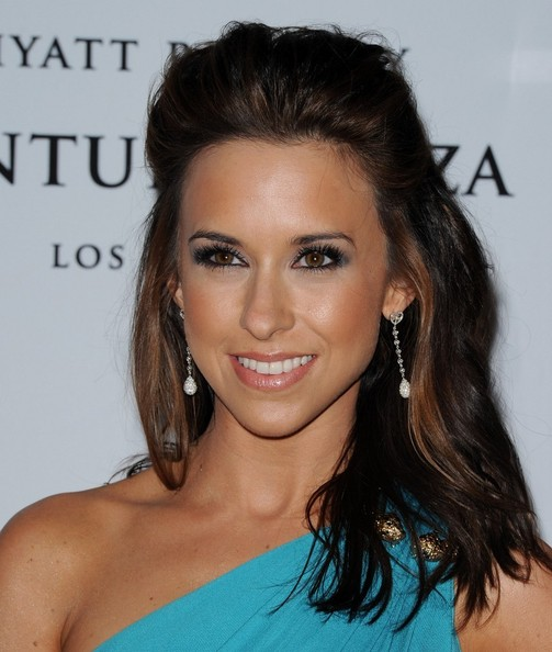 More Pics of Lacey Chabert Half Up Half Down (1 of 4) - Lacey Chabert Lookbook - StyleBistro