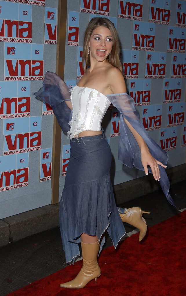MTV VIDEO MUSIC AWARDS 2002. RADIO CITY MUSIC HALL, NEW YORK CITY. AUGUST 29, 2002.