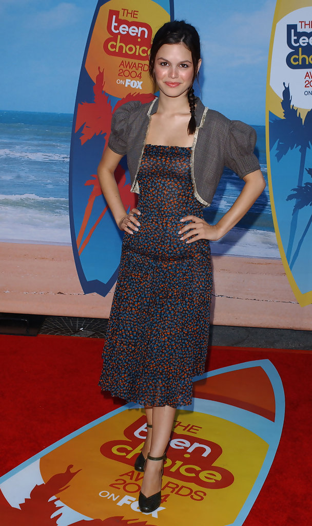 CREDIT: ©AXELLE/BAUER-GRIFFIN.2004 Teen Choice Awards - arrivals. .Universal Amphitheatre, Universal City, CA. .August 8, 2004...Rachel Bilson.