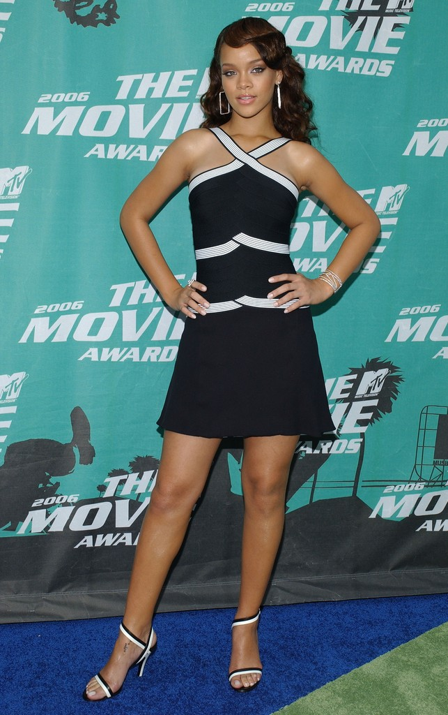 Rihanna in 2006 MTV Movie Awards - Arrivals