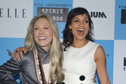 Faye Dunaway and Rosario Dawson Photo