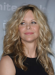 Actress Meg Ryan showed off her voluminous curls while hitting the Crystal and Lucy Awards.
