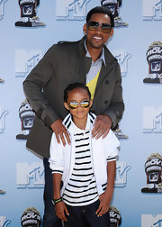 Jaden Smith was one cool kid at the 2008 MTV Movie Awards in his aviators and stylish outfit.