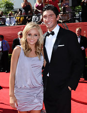 Nastia Liukin looked fabulous wearing a draped cocktail dress at the 2009 ESPY Awards.