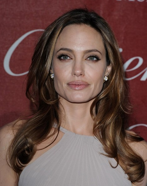 Angelina Jolie's Billowy Waves