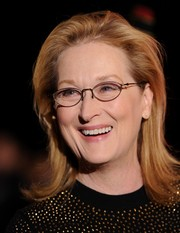Meryl Streep styled her hair into a simple flip for the Palm Springs International Film Festival.