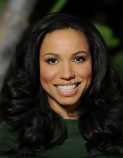 Jurnee Smollett wore soft silvery metallic shadow and a hint of liner and mascara at the 21st Annual Beat the Odds Awards.