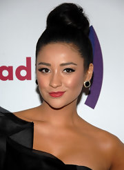 Actress Shay Mitchell looked amazing in  Albion Earrings at the 22nd Annual GLAAD Media Awards in Los Angeles.