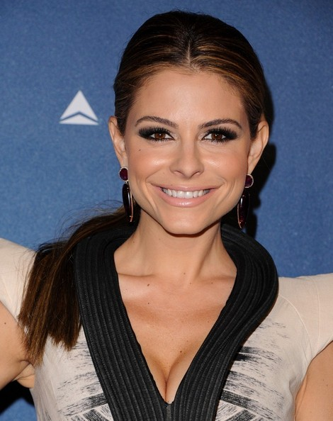 More Pics of Maria Menounos Ponytail (1 of 5) - Maria Menounos Lookbook - StyleBistro