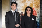 Gene Simmons and Nick Simmons Photo