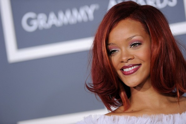 More Pics of Rihanna Mid-Length Bob (1 of 13) - Rihanna Lookbook - StyleBistro