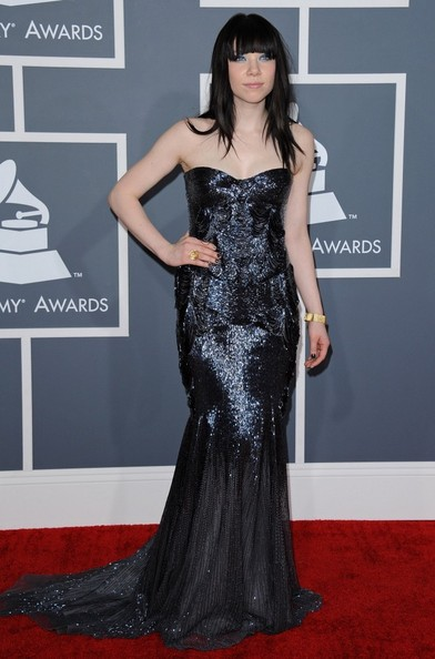 More Pics of Carly Rae Jepsen Mermaid Gown (7 of 14) - Carly Rae Jepsen Lookbook - StyleBistro