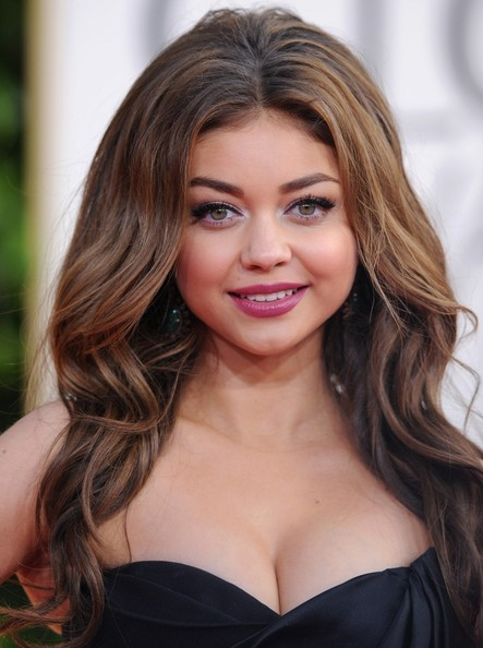 More Pics of Sarah Hyland Strapless Dress (1 of 8) - Strapless Dress Lookbook - StyleBistro