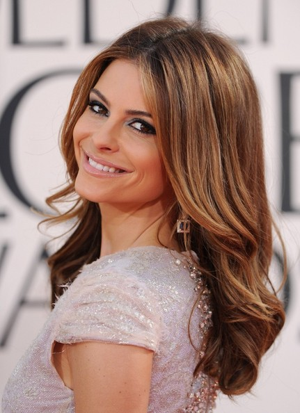 More Pics of Maria Menounos Long Curls (1 of 4) - Long Curls Lookbook - StyleBistro