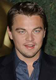 Leonardo DiCaprio looked oh-so-cool with this spiked hairstyle at the Academy Awards nominees luncheon.