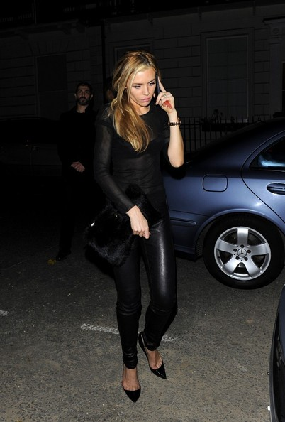 Abbey Clancy Fur Clutch