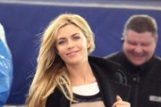 Abbey Clancy Pea Coat