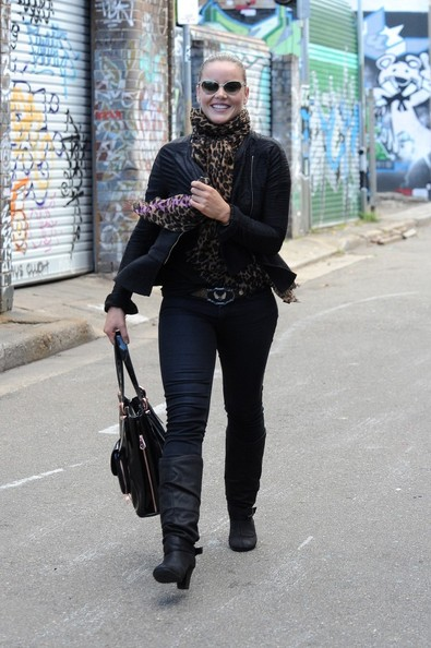 More Pics of Abbie Cornish Mid-Calf Boots (3 of 15) - Abbie Cornish Lookbook - StyleBistro
