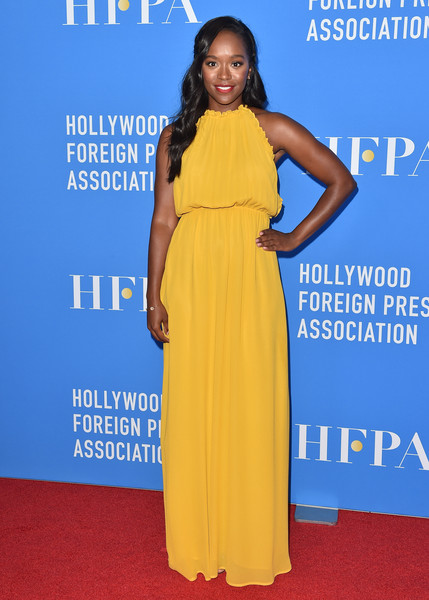 Aja Naomi King Maxi Dress []