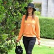 Alessandra Ambrosio as an Orange Cat