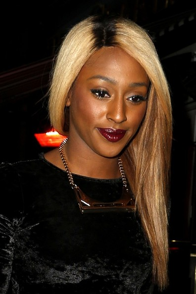 Alexandra Burke Long Straight Cut