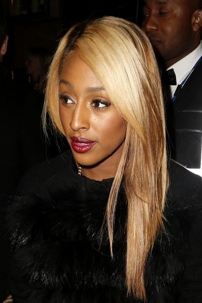 More Pics of Alexandra Burke Dark Lipstick (5 of 14) - Alexandra Burke Lookbook - StyleBistro