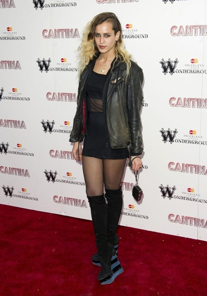 Alice Dellal Wedge Boots