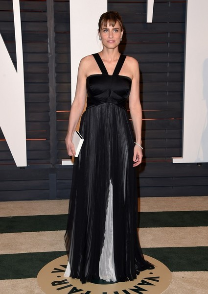 Amanda Peet Halter Dress