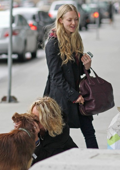 More Pics of Amanda Seyfried Lace Up Boots (15 of 26 ...