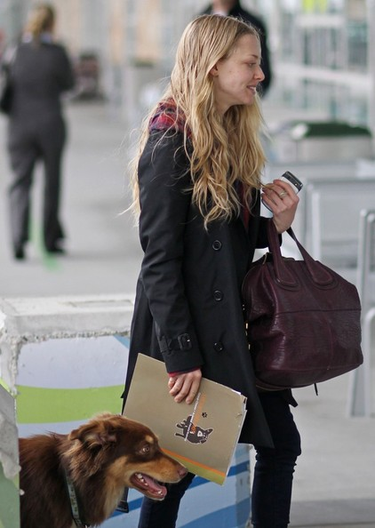 More Pics of Amanda Seyfried Lace Up Boots (13 of 26 ...