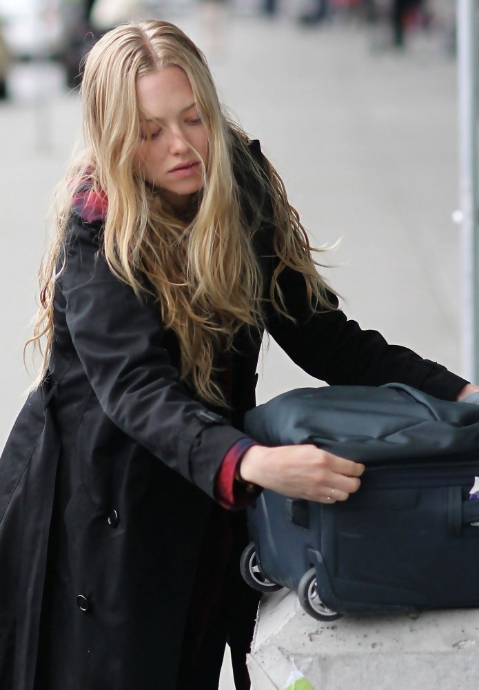 More Pics of Amanda Seyfried Lace Up Boots (22 of 26 ...