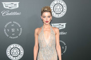 Amber Heard Sheer Dress