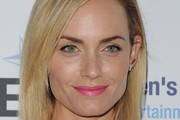 Amber Valletta Bright Lipstick