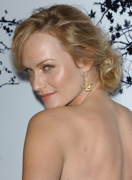 Amber Valletta Dangle Bird Earrings