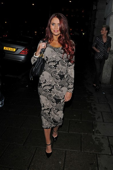 More Pics of Amy Childs Print Dress (1 of 5) - Print Dress Lookbook - StyleBistro