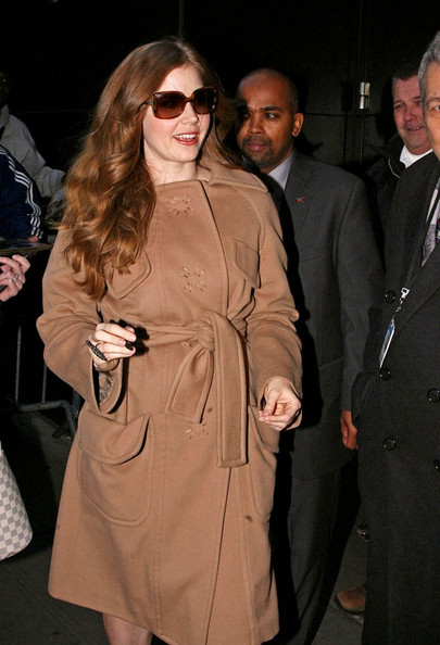 More Pics of Amy Adams Square Sunglasses (5 of 6) - Amy Adams Lookbook - StyleBistro