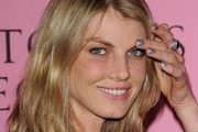 Angela Lindvall Metallic Nail Polish