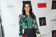 Angie Harmon Satin Clutch