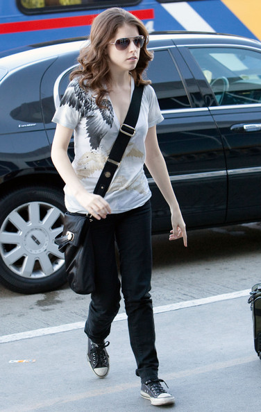 Anna Kendrick Canvas Shoes