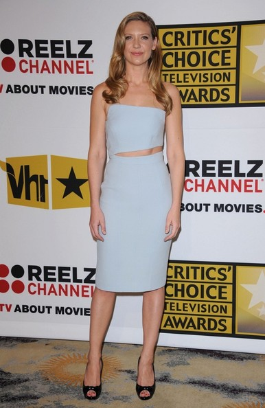 Anna Torv Cutout Dress