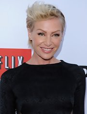 Portia de Rossi showed off her edgy side with this cool fauxhawk, which she sported to the premiere of 'Arrested Development.'