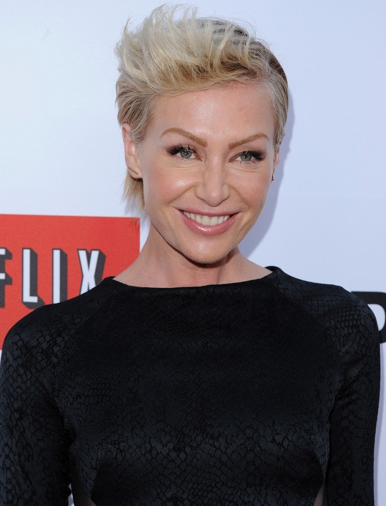More Pics Of Portia De Rossi Fauxhawk 10 Of 22 Short Hairstyles Lookbook Stylebistro