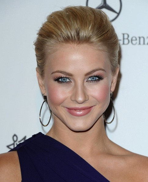 More Pics of Julianne Hough Diamond Hoops (1 of 11) - Julianne Hough Lookbook - StyleBistro
