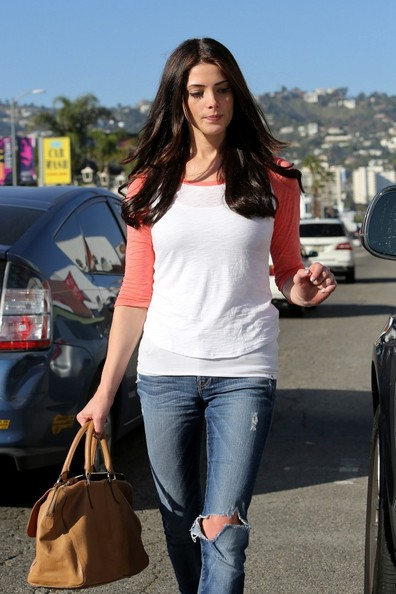 Ashley Greene Lunches in Hollywood