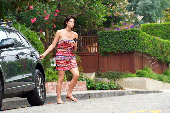 Ashley Greene Flat Sandals