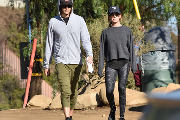 Ashley Tisdale Christopher French Christopher French and Ashley Tisdale Hike Together